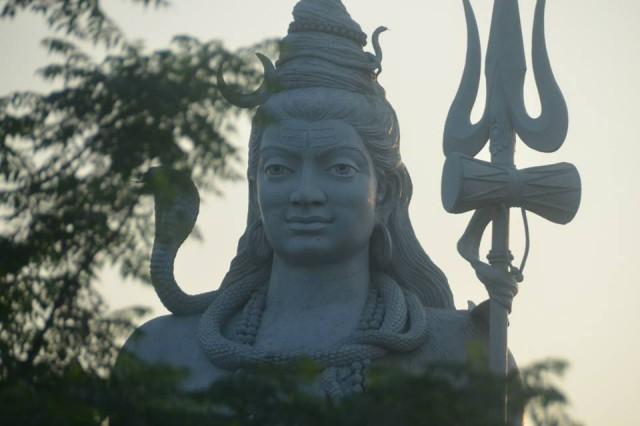 Massive Lord Shiva Statue in Haridwar