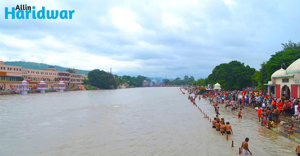 Divine Ganga ji in Haridwar